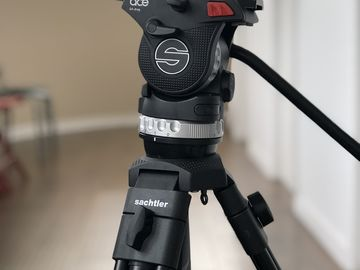 Rent: Sachtler Ace XL Tripod System with Aluminum Legs & Spreaders