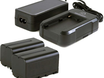 Rent: (2) Atomos NP-750 Batteries w/ Charger