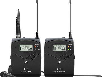 Rent: Sennheiser G4 Wireless Lav Kit