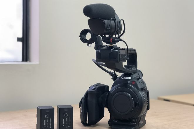 Canon C100 w/ Lens Kit, Shoulder Rig, & Mic (Indie Film PKG)