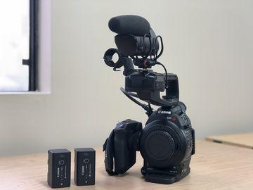Rent: Canon C100 w/ Lens Kit, Shoulder Rig, & Mic (Indie Film PKG)