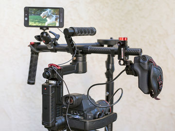 Rent: DJI Ronin-M with Grip Relocator for C100/C300