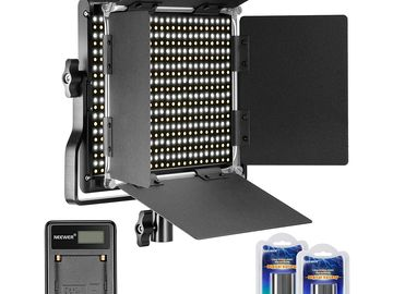 Rent: Neewer Dimmable Bi-color 660 LED Video Light