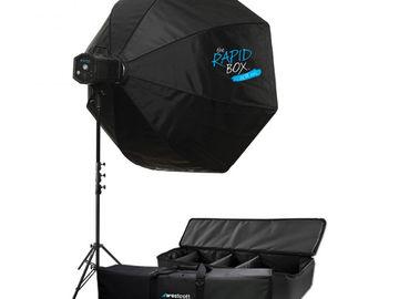 "Rent: Westcott Skylux 48"" Rapid Box XXL Octabox Lighting Kit"