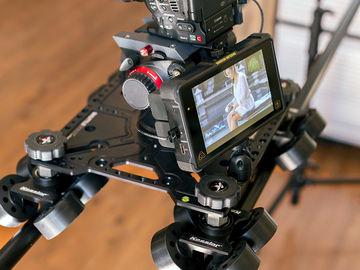 Rent: Canon C100MKII, Kessler Shuttle Dolly, Atomos Shogun Kit
