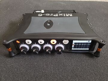 Rent: Sound Devices Mixpre-6 recorder /w bag