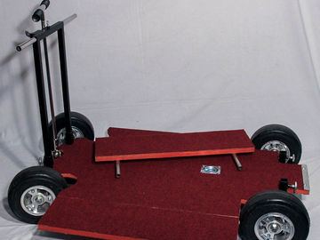 Rent: Norms Doorway Dolly w/skate wheels and push bar