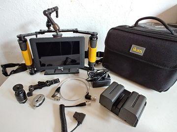 "Rent: iKan 7"" SDI/HMDI Grab & Go monitor kit"