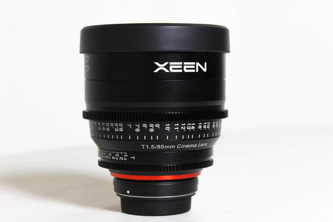 Rokinon's Xeen 85mm T1.5 Lens for Canon EF Mount