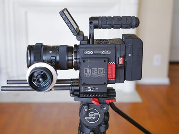 Rent: RED Epic Gemini 5k Cinema package (tripod, lenses, filters)