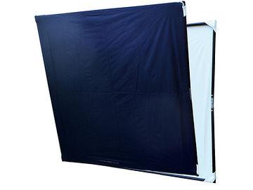 Rent: 4x4 Folding Flag kit, Black, white, diffusion, silver, gold