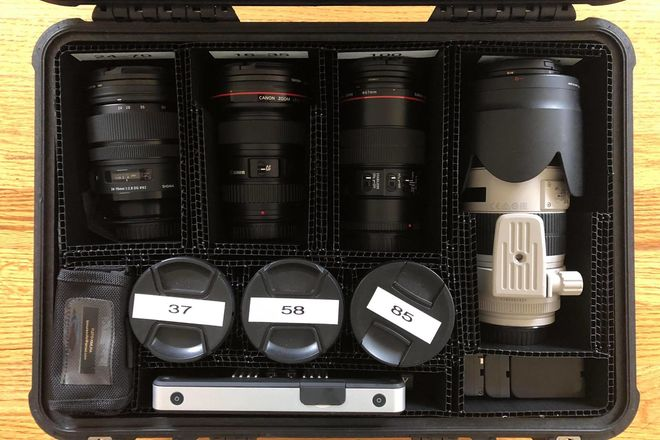 EF Lens Package: CANON 16-35, 24-70,70-200 and etc...