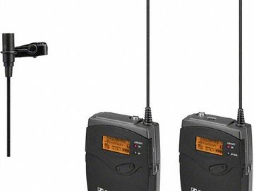 Rent: Sennheiser G3 Lavalier Set