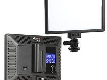 Rent:  1 VILTROX Super Slim Bi-Color LED Light Panel