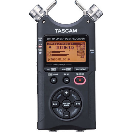 Tascam DR-40 Dual Channel Recorder