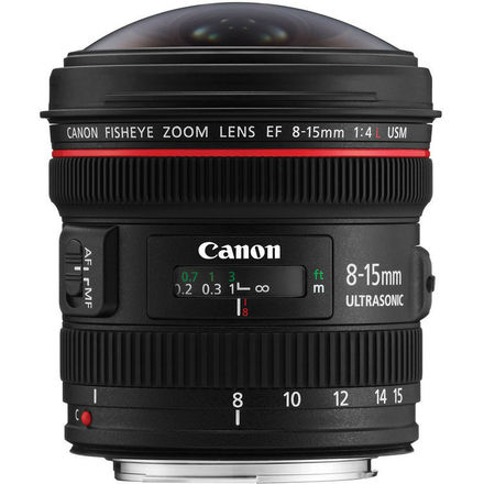 Canon EF 8-15mm f/4 L USM Fisheye Lens