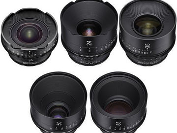 Rent: Rokinon Xeen Cinema Lenses - EF