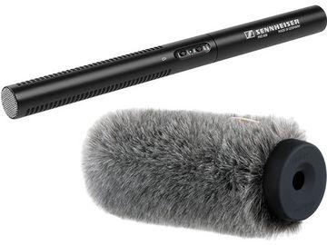 Rent: Sennheiser MKE 600 Shotgun Microphone w/dead cat windcreen