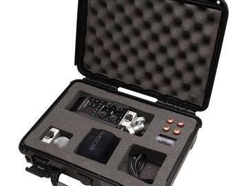 Rent: Zoom H6 Field Recorder w/Sennheiser HD25 Headphones
