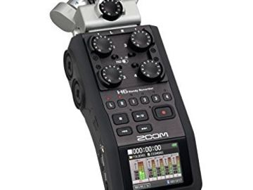 Rent: Zoom H6 Handy Recorder with Microphone System