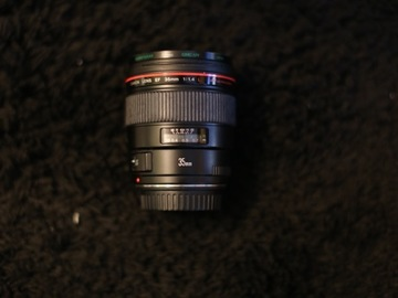 Rent: Canon 35mm f/1.4L Lens