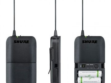 Rent: Zoom H6 Recorder w/Shure 4-channel Wireless Rig