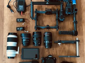 Rent: Sony Alpha a7S II w/ Movi m5 and Lenses Package