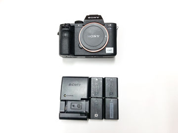 Rent: Sony Alpha a7S II With 4 Batteries