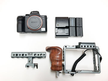 Rent: Sony Alpha a7S II Body, Card, Batteries, Tilta Cage w handle