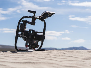 Rent: DJI Ronin Gimbal M-Grip w/2 batteries