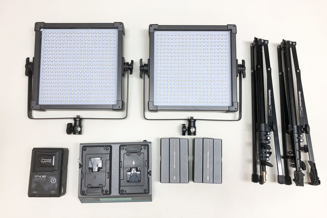 F & V K4000S Bi-Color 60 Light Kit
