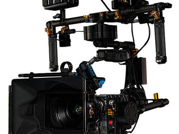 Rent: Defy G12 Handheld Gimbal with Case, 2 x Battery, Charger