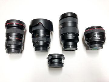 Rent: Canon & Sony Lens Combo