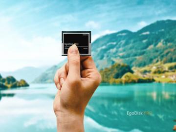 Rent: 4 x egodisk PRO  (4) 256GB CFAST CARD