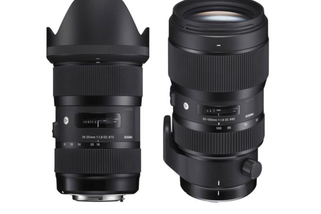 Sigma 18-35mm & 50-100mm Lens Kit EF Mount