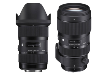 Rent: Sigma 18-35mm & 50-100mm Lens Kit EF Mount