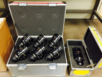 Rent: Cooke S4i Primes (Set of 8)
