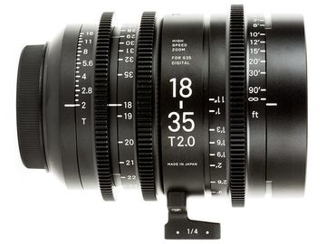 Rent: Sigma Cine 18-35mm T2 (E Mount)