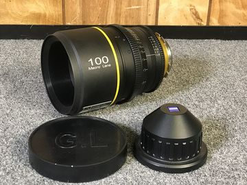 Rent: GL Optics Rehoused 100mm Sigma Macro PL T3