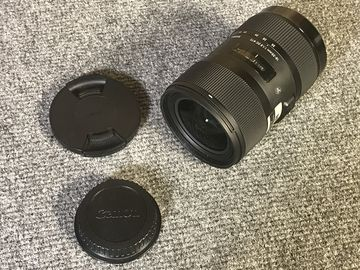 Rent: Sigma Art Series 18-35mm f/1.8 Zoom - Canon Mount