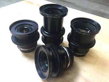 Rent: LEICA-R EF Prime Lens Kit