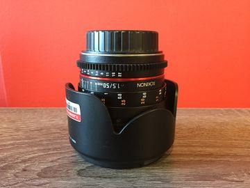 Rent: Rokinon 50mm t/1.5 Cine lens