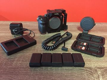 Rent: Sony Alpha a7S II w/ Cage & EF Lens