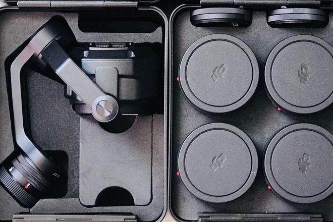 DJI X7 & Zenmuse X7 DL/DL-S Lens Set