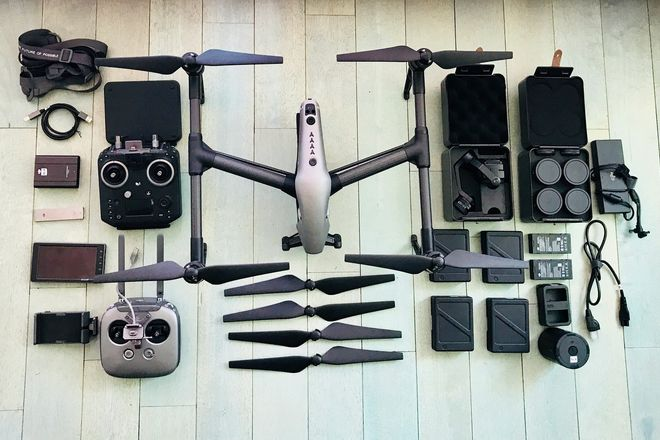 DJI Inspire 2 Quadcopter X7 w/ Part 107 Operator