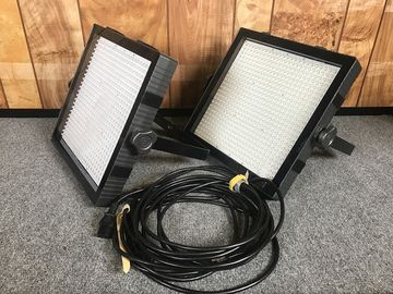 Rent: (2) Dedolight FELLONI 50° LED Panel - KIT