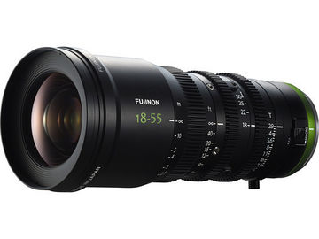 Rent: Fujinon MK 18-55mm T2.9 Lens (Sony E-Mount) (2 of 2)