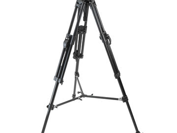 Rent: Manfrotto 501HDV Tripod head with sticks