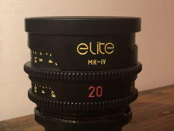 Rent: ELITE S16 MK-IV 8mm-9.5mm-12mm-16mm-20mm-35mm
