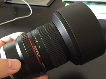 Rent: Rokinon 14mm f/2.8 IF ED UMC Lens For Sony